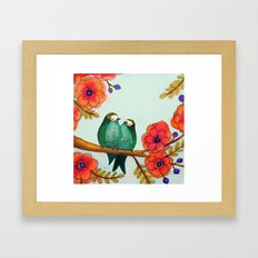 feather bellies Framed Art Print
