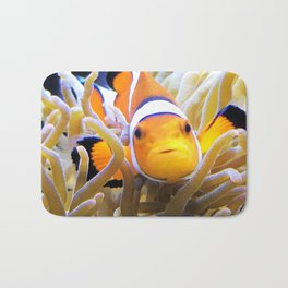 Clownfish In Anemone Bath Mat