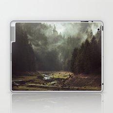 Foggy Forest Creek Laptop & iPad Skin
