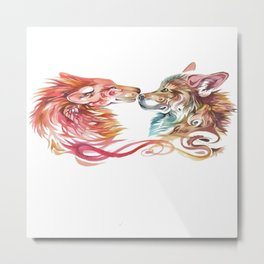 lovely wolf Metal Print