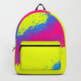 Neon 90's Artwork Backpack