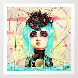 New Queen. Art Print