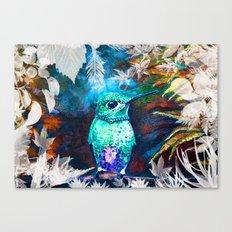 Posh Bird Canvas Print