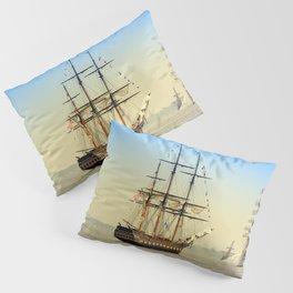 Sail Boston - Oliver Hazard Perry Pillow Sham