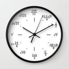 Math Clock - Clock Only Wall Clock