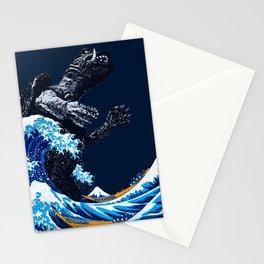 THE GREAT GAMERA OF KANAGAWA Stationery Cards