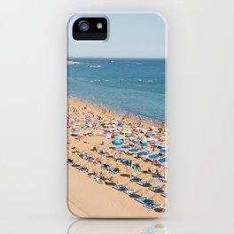 Albufeira beach Portugal iPhone Case