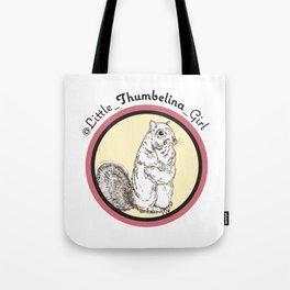 Little Thumbelina Girl: meerkat circle Tote Bag