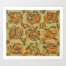 Blobbini Art Print