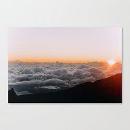 Haleakala Sunrise Canvas Print