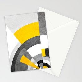 FORMAS GEOMETRICAS - 48A, TEXTURAS, CORES, PEDRA, PAREDE, AMARELO Stationery Cards