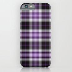 Purple Plaid Slim Case iPhone 6