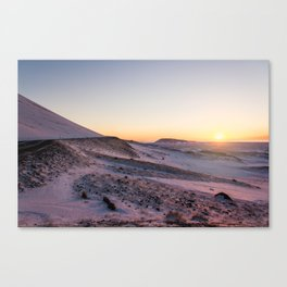 Snaefellsnes- Misty Morning Canvas Print