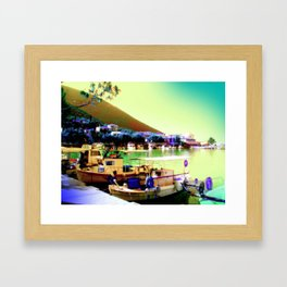 Greece - Lefkada Framed Art Print
