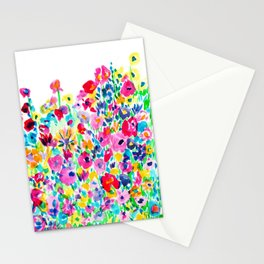 Flower Fields Pink Stationery Cards