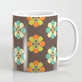 Retro Flower 301 Coffee Mug