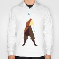 airbender Hoodies featuring Aang by JHTY