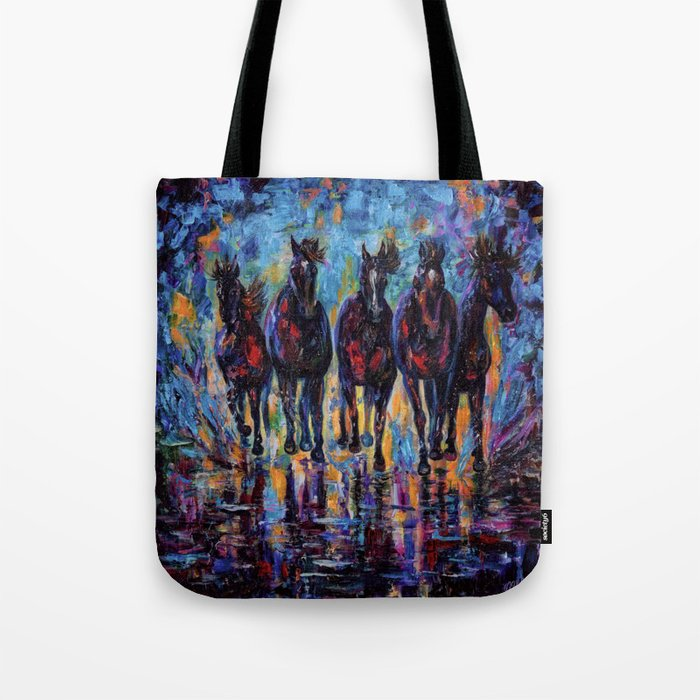 Roaming Free Tote Bag