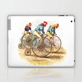 Racing Roosters Laptop & iPad Skin