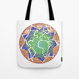 """The earth is but one country"" Tote Bag"