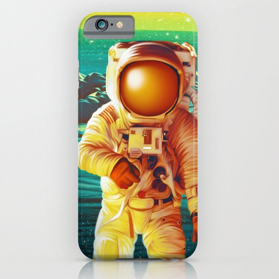 Space Man iPhone & iPod Case