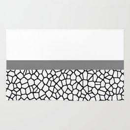 staklo (gray stripe) Rug