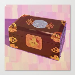 Chinese Jewelry Box Canvas Print