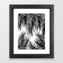 Palm Leaf Jungle Vibes #3 #tropical #decor #art #society6 Framed Art Print