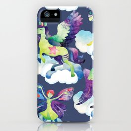 Fly into my dreams iPhone Case