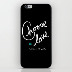 Against All Odds iPhone & iPod Skin