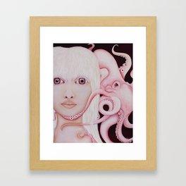 Albino Squid Framed Art Print
