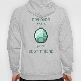 Diamonds are a girl's best friend Hoody