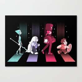 Crystal Road Canvas Print