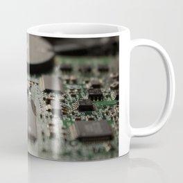 Hard Drive Close Up Detailed Coffee Mug
