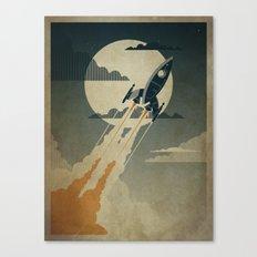 Night Launch Canvas Print