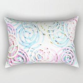 Flashy Paper Clips Rectangular Pillow