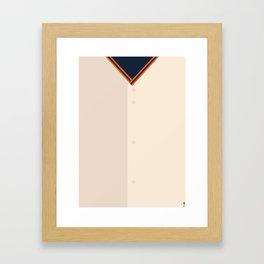 Baseball - SF Giants Framed Art Print