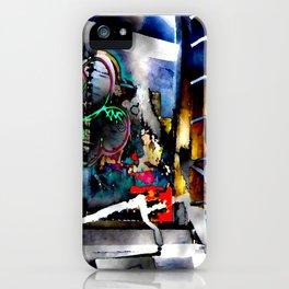 Bowery Graffiti iPhone Case