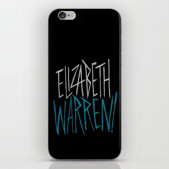 Elizabeth Warren! iPhone Skin