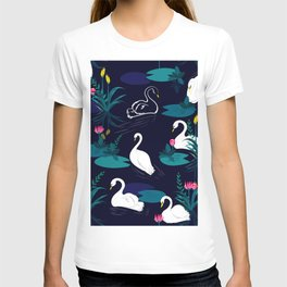 Majestic Lake Swam I T-shirt
