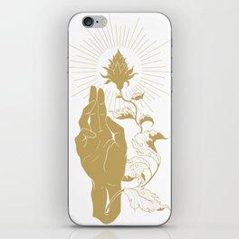 Alpha and Omega iPhone Skin