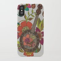 banjo iPhone & iPod Cases featuring Ever Banjo by Valentina Harper