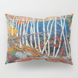 In The Northland (Group Of Seven) by Tom Thomson Canadian Landscape Art Pillow Sham