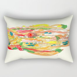 un corps comme continent Rectangular Pillow