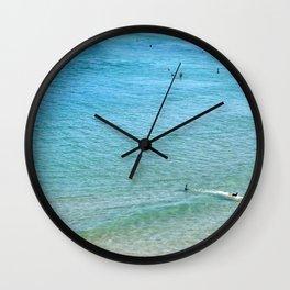 Summer Seas Wall Clock