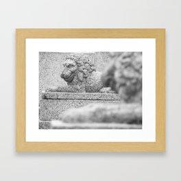 Two guardsmen Framed Art Print