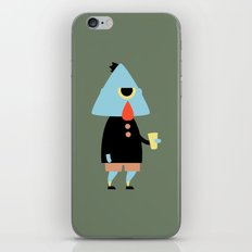 Mortimer iPhone & iPod Skin