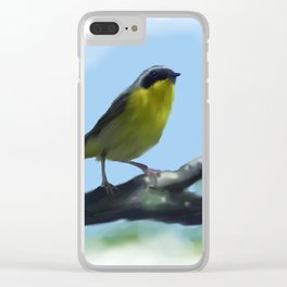 Common Yellowthroat Clear iPhone Case