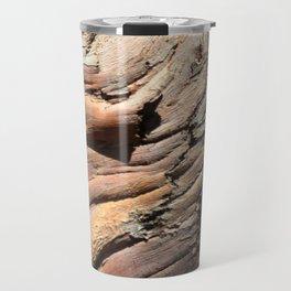 Eucalyptus tree bark texture Travel Mug