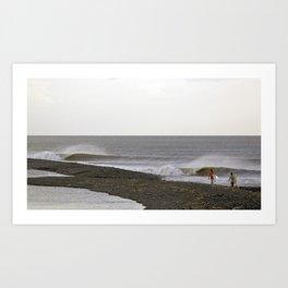 surfEXPLORE Taiwan Art Print